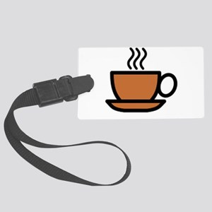 Hot Cup of Coffee Luggage Tag