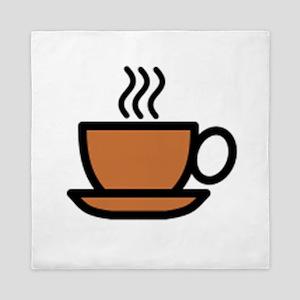 Hot Cup of Coffee Queen Duvet