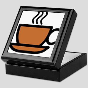 Hot Cup of Coffee Keepsake Box