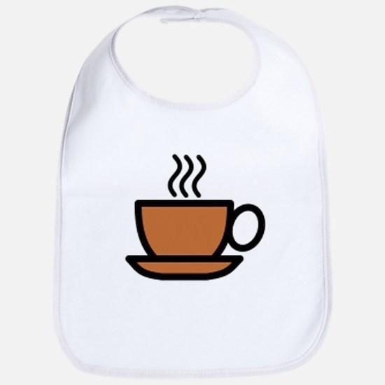 Hot Cup of Coffee Bib
