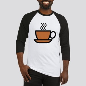 Hot Cup of Coffee Baseball Jersey