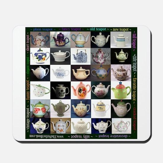 30 Teapots Mousepad