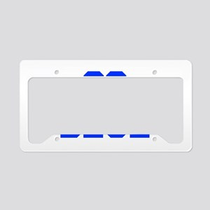 go-blue-fresh-blue License Plate Holder
