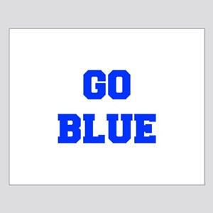 go-blue-fresh-blue Posters