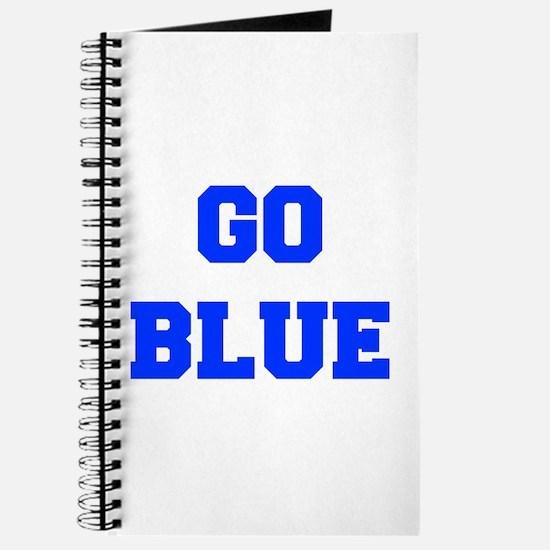 go-blue-fresh-blue Journal