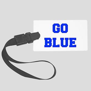 go-blue-fresh-blue Luggage Tag