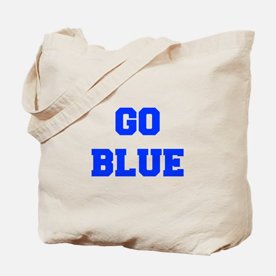 go-blue-fresh-blue Tote Bag