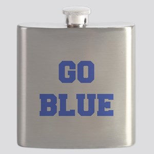 go-blue-fresh-blue Flask