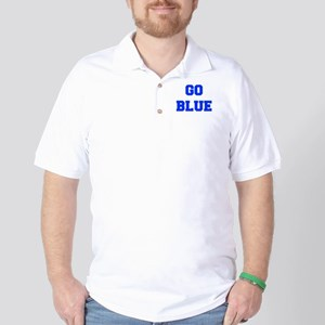 go-blue-fresh-blue Golf Shirt