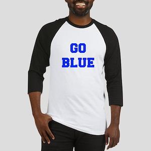 go-blue-fresh-blue Baseball Jersey