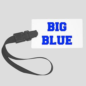 big-blue-fresh-blue Luggage Tag