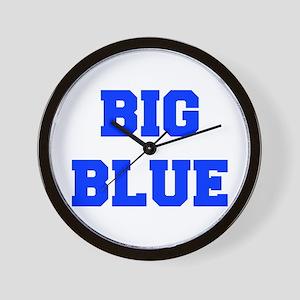 big-blue-fresh-blue Wall Clock