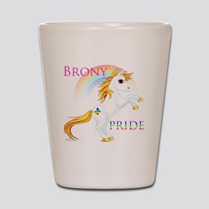 Brony Pride Shot Glass