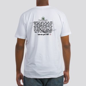 How Do You Roll Fitted T-Shirt