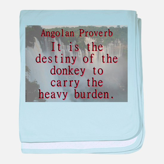 It Is The Destiny Of The Donkey - Angolan baby bla