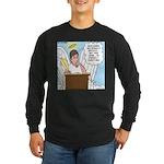 Eternally Grateful Long Sleeve Dark T-Shirt