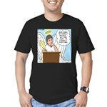 Eternally Grateful Men's Fitted T-Shirt (dark)
