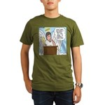 Eternally Grateful Organic Men's T-Shirt (dark)