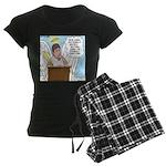 Eternally Grateful Women's Dark Pajamas