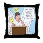 Eternally Grateful Throw Pillow