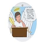Eternally Grateful Ornament (Oval)