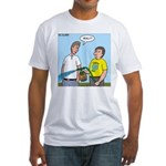Earthday Weeding Fitted T-Shirt