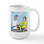 Earthday Weeding Large Mug