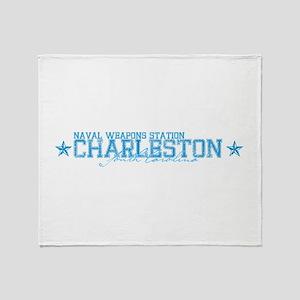NWS Charleston SC Throw Blanket