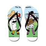 Domino Republic Flip Flops