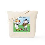 Domino Republic Tote Bag