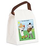 Domino Republic Canvas Lunch Bag