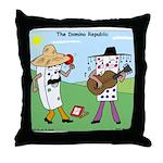 Domino Republic Throw Pillow