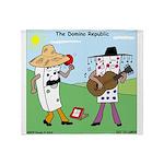 Domino Republic Throw Blanket