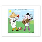 Domino Republic Small Poster