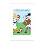 Domino Republic Mini Poster Print