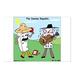 Domino Republic Postcards (Package of 8)