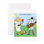 Domino Republic Greeting Cards (Pk of 10)
