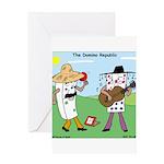Domino Republic Greeting Card