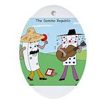 Domino Republic Ornament (Oval)