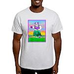 Hula Bulldog Ash Grey T-Shirt