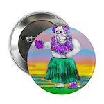 Hula Bulldog Button