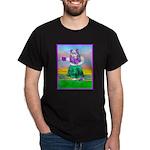 Hula Bulldog Dark T-Shirt