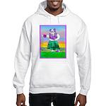 Hula Bulldog Hooded Sweatshirt