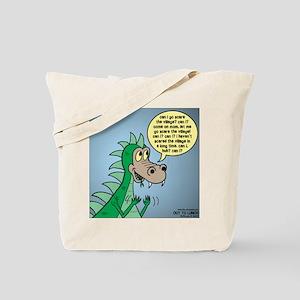 Dragon Kid Tote Bag