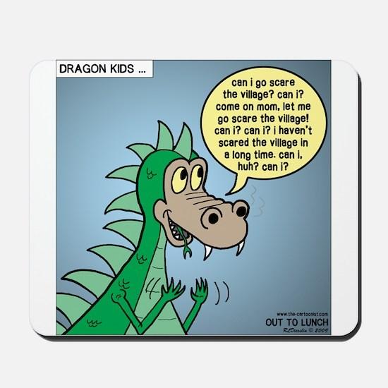 Dragon Kid Mousepad
