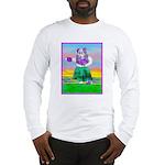 Hula Bulldog Long Sleeve T-Shirt