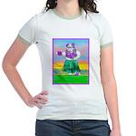 Hula Bulldog Jr. Ringer T-Shirt