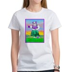 Hula Bulldog Women's T-Shirt