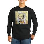 Dentist Suction Long Sleeve Dark T-Shirt