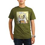 Dentist Suction Organic Men's T-Shirt (dark)